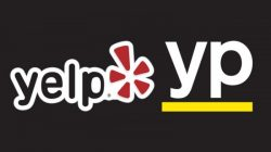 Yelp and YP logos